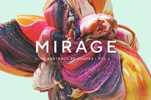 Mirage, Vol. 2 – Abstract 3D Shapes