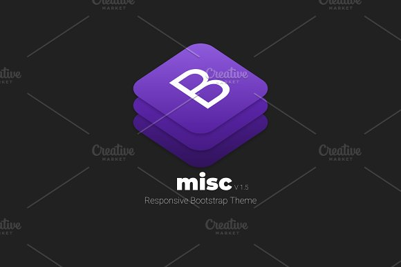 MISC - Responsive Bootstrap Theme
