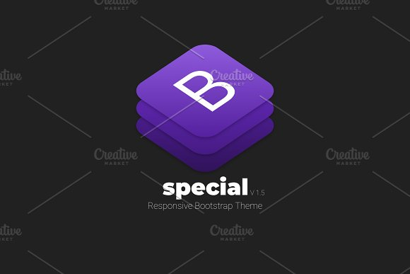 SPECIAL - Responsive Bootstrap Theme