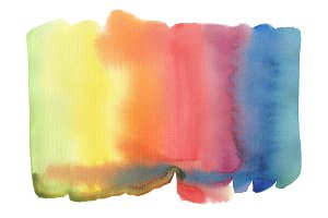 Abstract watercolor blot paint