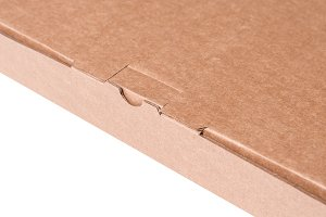 Lock of cardboard box