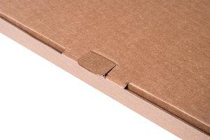 Lock of cardboard box