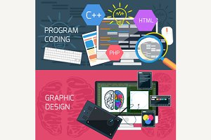 Program Coding and Graphic Design
