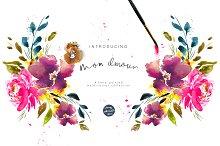 Mon Amour Watercolour Design Set