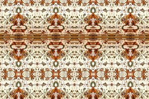 Collage Ornate Seamless Pattern Desi