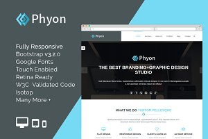 Phyon - HTML5 Responsive Template