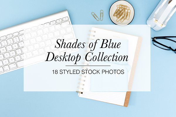 Styled Stock Bundle: Shades of Blue