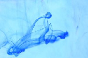 Blue Ambient Ink Motion