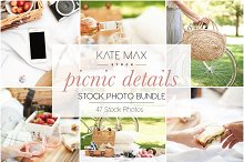 Modern Neutral Picnic Details Bundle by  in Product Mockups