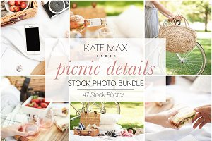 Modern Neutral Picnic Details Bundle