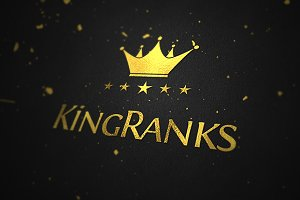 King Ranks Logo Template