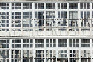 glazed windows