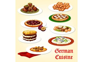 German cuisine icons