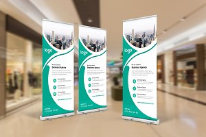 Professional Roll-Up Banner Design