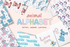 Kids Patterns & Alphabets - Animal