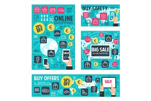 Online shopping for web store