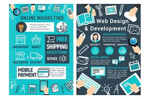 Online marketing, web design