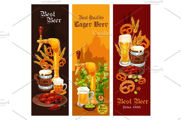 Beer, lager and ale alcohol drink