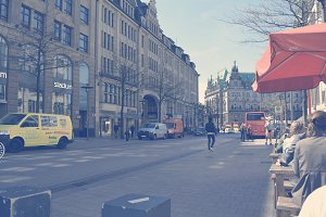 Hamburg City Scenery