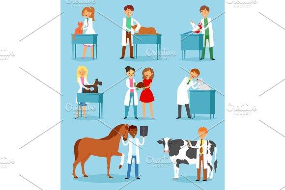 Veterinary vector veterinarian