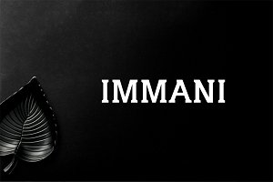 Immani 2 Font Family Pack