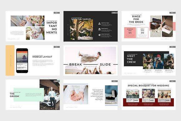 corridoio wedding planner powerpoint presentation templates