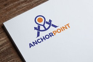 Anchor Point Logo Template