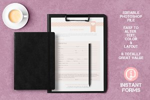 Newborn Photography Contract Forms