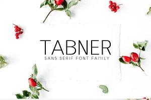 Tabner Sans Serif Font Family
