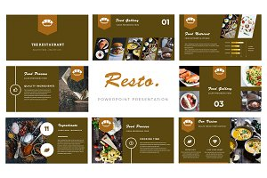 Resto Powerpoint Template