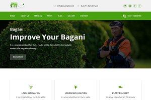 Bagani –Gardening & Landscaping HTML