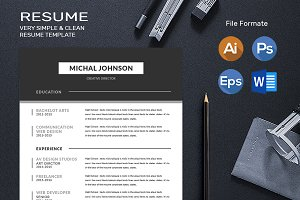 Professional Clean Resume Converter