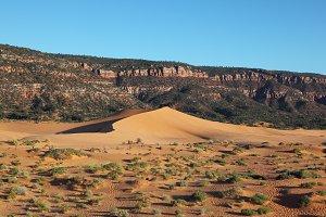 Elegant orange dune
