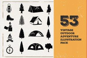 53 Vintage Adventure Illustration