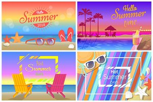 Hello Hot Summer Time Promotional