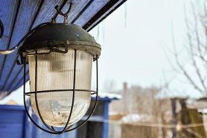 Iron street electric lamp