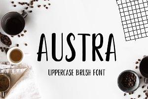 Austra Uppercase Font