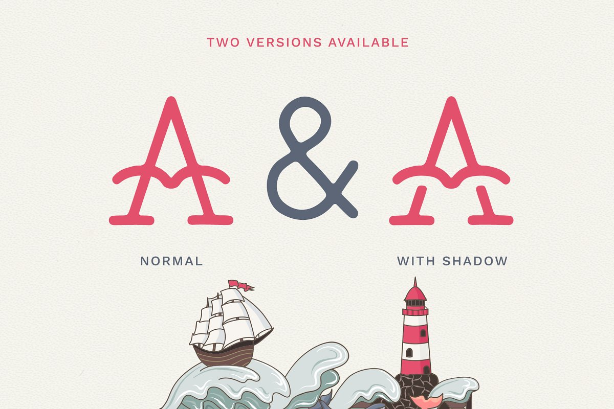 The Bearded Sailor - Tattoo Font in Display Fonts - product preview 8