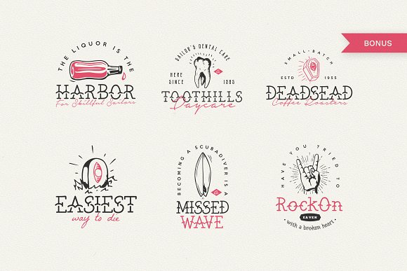 The Bearded Sailor - Tattoo Font in Display Fonts - product preview 1