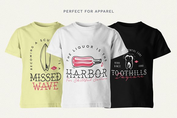 The Bearded Sailor - Tattoo Font in Display Fonts - product preview 6