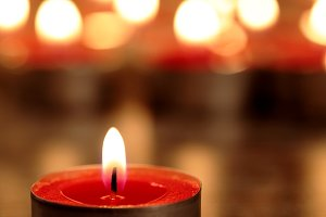 Red candle