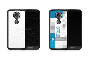 Motorola E5 Play 2d Rubber Flex Case