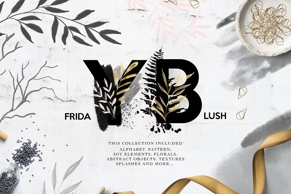 Illustrations and Illustration Products: Daria Bilberry - Friday Blush collection
