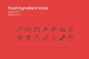 Alaca - ingredients of food icon