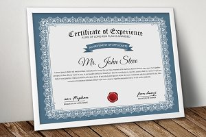 4 Format Certificate Word Template