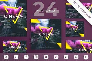 Social Media Pack | Cinema Club