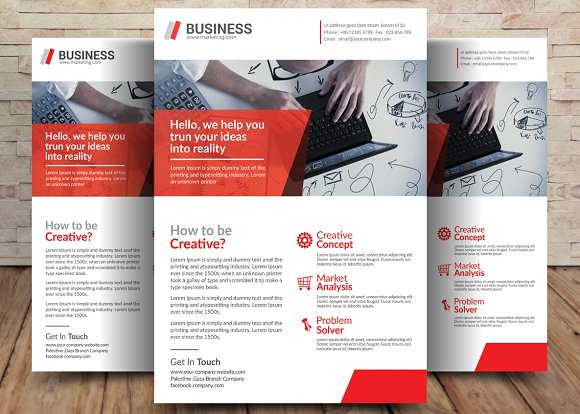 small business flyer flyer templates creative market
