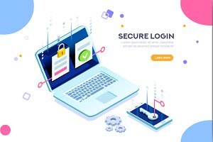 Secure Login Authentication Concept