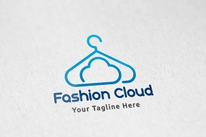 Cloud Fashion - Logo Template