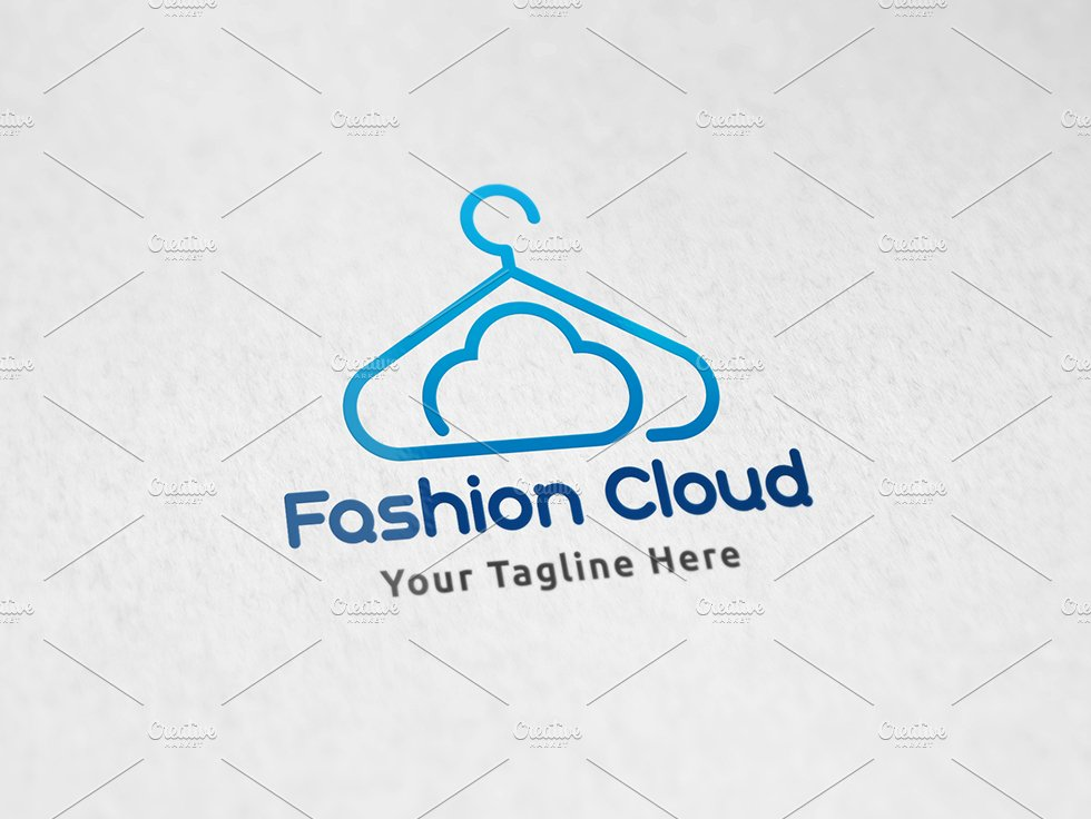 Cloud Fashion - Logo Template ~ Logo Templates ~ Creative Market